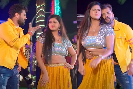 In this song, the pair of Khesari Lal Yadav and Chandni Singh are very much liked by the people.  In this song, the Bhojpuri audience is also very fond of their dance.