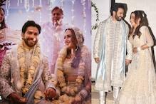 Varun-Natasha Wedding: एक-दूसरे के हुए वरुण-नताशा, देखें First Photo