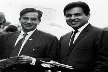 दिलीप कुमार और राज कपूर. (Photo: Twitter)