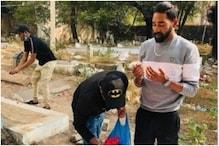 सिराज को पिता की कब्र पर देख भर आया बॉलीवुड के 'हीमैन' का मन, बोले- नाज है