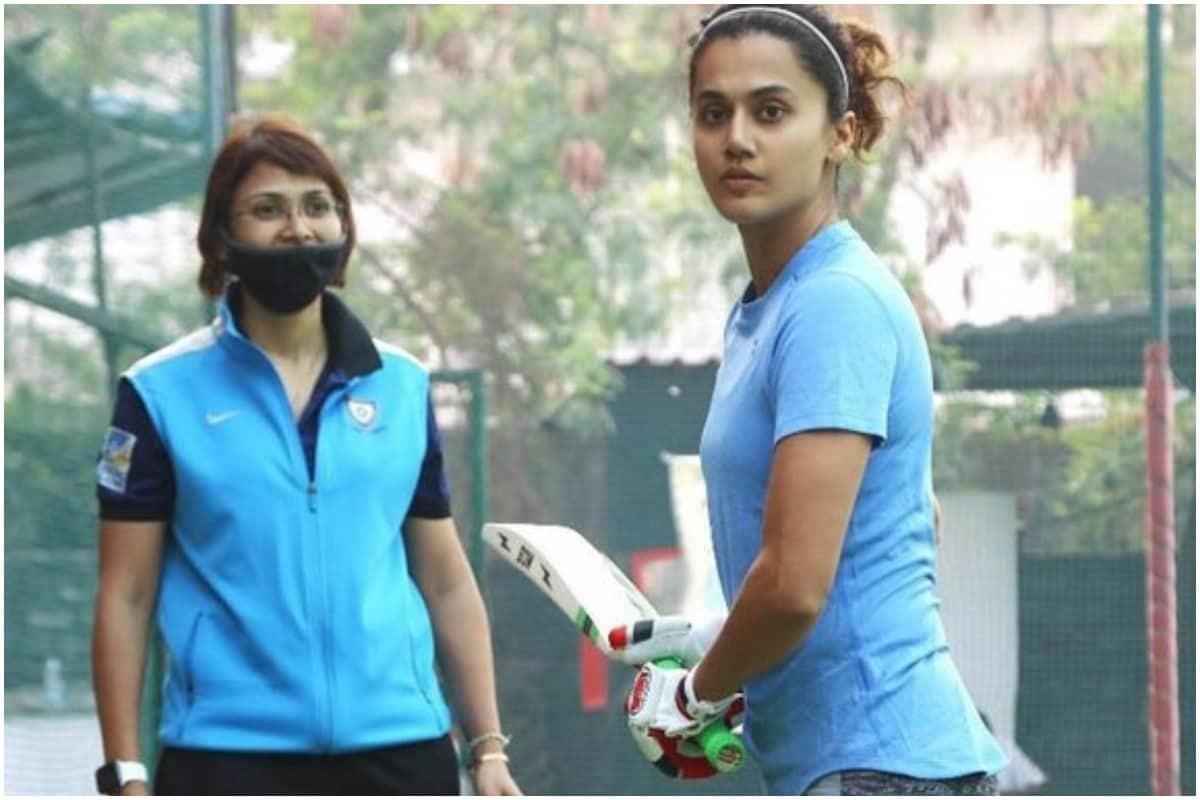भारतीय महिला क्रिकेट टीम की कप्तान मिताली राज पर बन रही बायोपिक शाबाश मिट्ठू को लेकर तैयारियां जोरों पर हैं. इस फिल्म में तापसी पन्नू क्रिकेटर मिताली राज का किरदार निभाती हुई नजर आएंगी. इस किरदार की तैयारी के लिए तापसी ने तैयारी शुरू कर दी है. उन्होंने हाथ में बल्ला थामे अपनी एक तस्वीर ट्विटर पर शेयर की है. (Taapsee Pannu/Instagram)