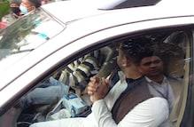 राजभवन पहुंचे तेजस्वी और राज्यपाल फागू चौहान से की कानून व्यवस्था की शिकायत