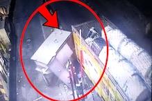 Toll plaza पर कलेक्शन बूथ को बेकाबू ट्रक ने मारी टक्कर, देखिए वीडियो