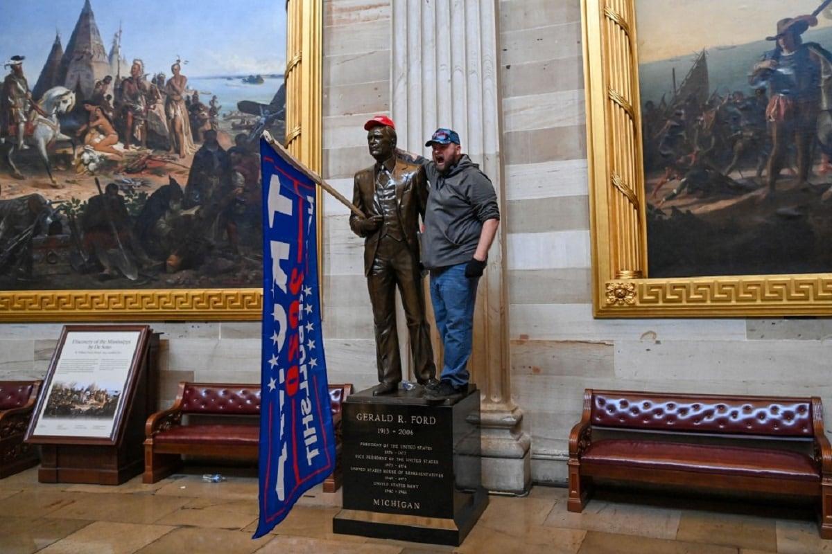 US Capitol Hill Violence