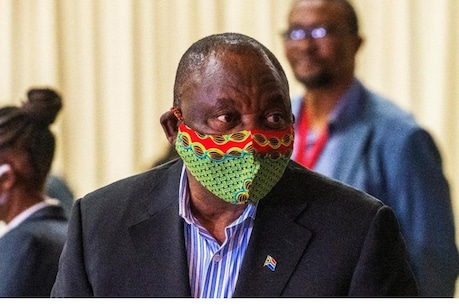 South African President Cyril Ramaphosa (Photo Credit-AP)