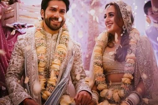 वरुण की शादी की रस्में मुंबई के अलीबाग स्थित 'द मैंशन हाउस' में संपन्न हुई. फोटो साभार- varundvn/Instagram