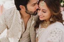 वरुण धवन की शादी का अनदेखा Video, सफेद शेरवानी में तैयार हुए दूल्हेराजा