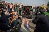 तिरंगे का अपमान नहीं सहेगा हिंदुस्तान, सिंघु से शाहजहांपुर तक किसानों का विरोध