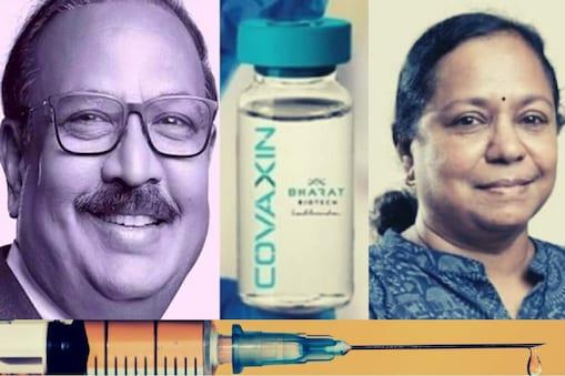 कोवैक्सिन के डेवलपमेंट में अहम रहे डॉ. कृष्ण एला और डॉ. सुमति.
