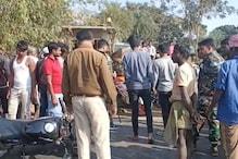दुमका के जामा में कंटेनर की चपेट में आने से बाइक सवार 3 युवकों की दर्दनाक मौत