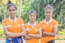 जूनियर महिला हॉकी टीम के साथ सेंटियागो के लिए रवाना हुईं झारखंड की 3 बेटियां
