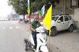 पांव से अपाहिज किसान दिल्ली में  होने वाली ट्रैक्टर परेड के लिए हुआ रवाना
