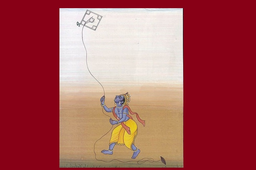 krishna kite Learn how Lord Ram flew the kite for the first time on Sankranti Learn how Lord Ram flew the kite for the first time on Sankranti