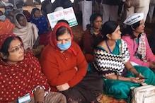 पलवल में चल रहे प्रदर्शन में शामिल हुआ महाराष्ट्र से आया किसानों का जत्था
