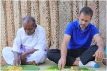 तमिलनाडु में राहुल गांधी ने लिया मशरूम बिरयानी का मज़ा, वीडियो हुआ वायरल