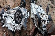 हरियाणा: शिमला घूमने गए 4 दोस्तों की कार खाई में गिरी, 2 की मौत