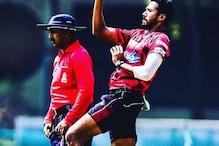 टीम इंडिया में नेट बॉलर के रूप में शामिल वारियर को तमिलनाडु नहीं करेगा रिलीज