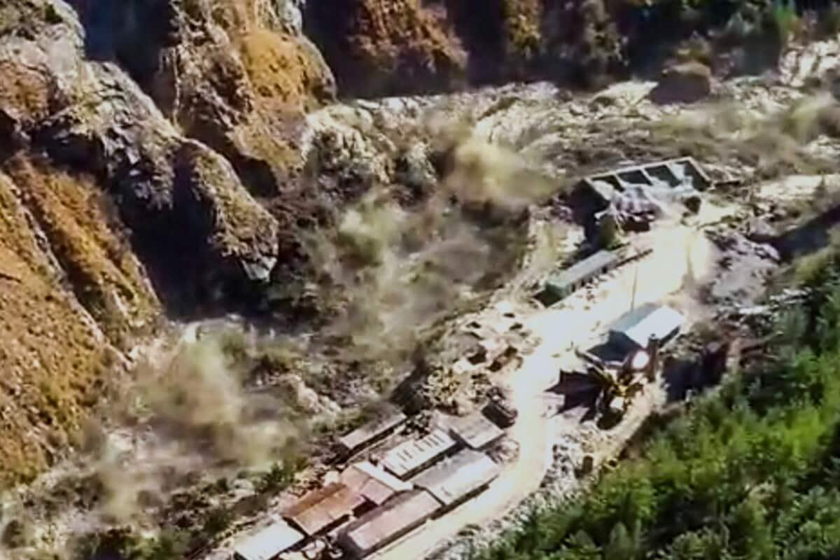 Chamoli, Glacier, Tapovan-Vishnugad Hydroelectric Project, Floods, Eyewitnesses,चमोली, ग्लेशियर, तपोवन-विष्णुगाड जल विद्युत परियोजना, बाढ़, प्रत्यक्षदर्शी