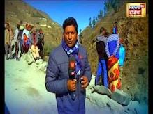 News18 India की टीम पहुंची चमोली में उन जगहों पर जहां मची सबसे ज़्यादा तबाही