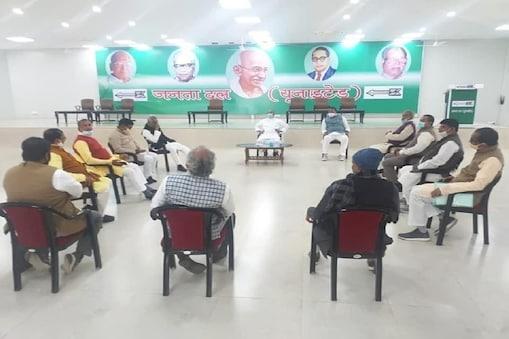 बिहार में जेडीयू में संगठन स्तर पर बड़ा बदलाव किया गया है (फाइल फोटो)