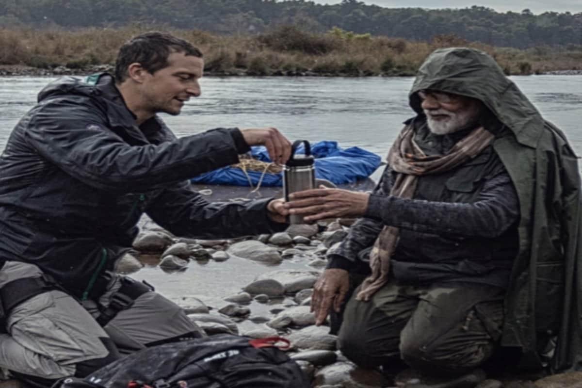 बेयर ग्रिल्स ने पीएम नरेंद्र मोदी के साथ शेयर की Photo, बोले- 'पसंदीदा तस्वीरों में से एक'