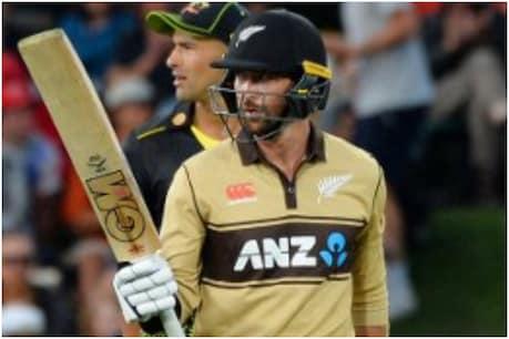 New Zealand vs Australia: न्यूजीलैंड के डेवन कॉनवे ने 99 रन की नाबाद पारी खेली. (AFP)