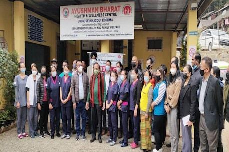डॉ. हर्ष वर्धन ने कोहिमा में निर्माणाधीन मेडिकल कॉलेज का निरीक्षण किया.