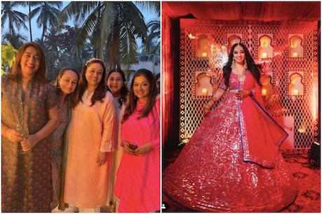 JP Dutta's daughter Nidhi had a bridal shower party with pomp.  (Instagram @Nidhidutta)