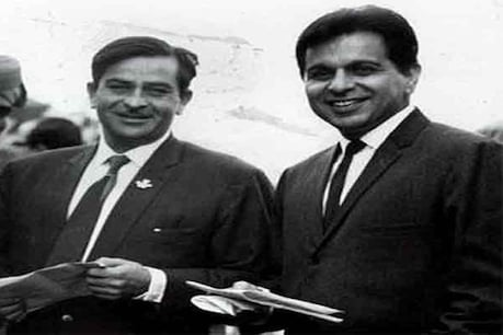 Raj Kapoor and Dilip Kumar (File Photo)