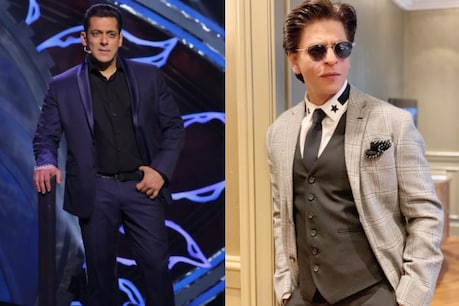 Both Salman and Shah Rukh are very happy to work together.  (Instagram)