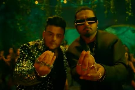 The song is rocking YouTube as soon as the song is released.  Photo courtesy- Video Grab