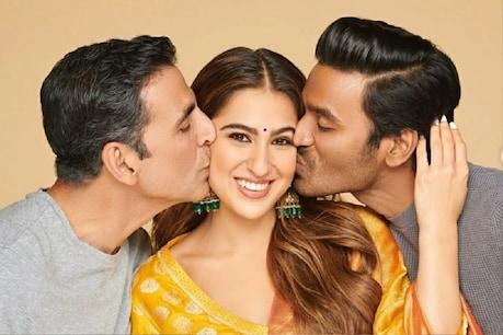 For the first time in the film, viewers will see a big love triangle between Akshay Kumar, Sara Ali Khan and Dhanush.