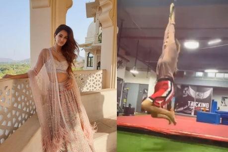 Disha Patani's stunt video goes viral.  (Photo courtesy: Disha Patani / twitter)