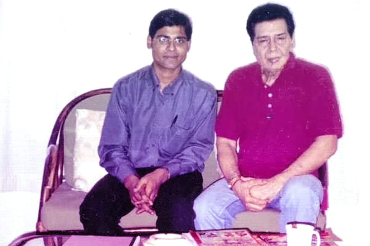 Sujeet Kumar With Manoj Bhawook