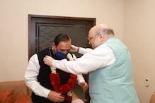 PHOTOS: निकाय चुनाव में BJP की जीत के बाद गुजरात पहुंचे शाह, अहमदाबाद में जश्न