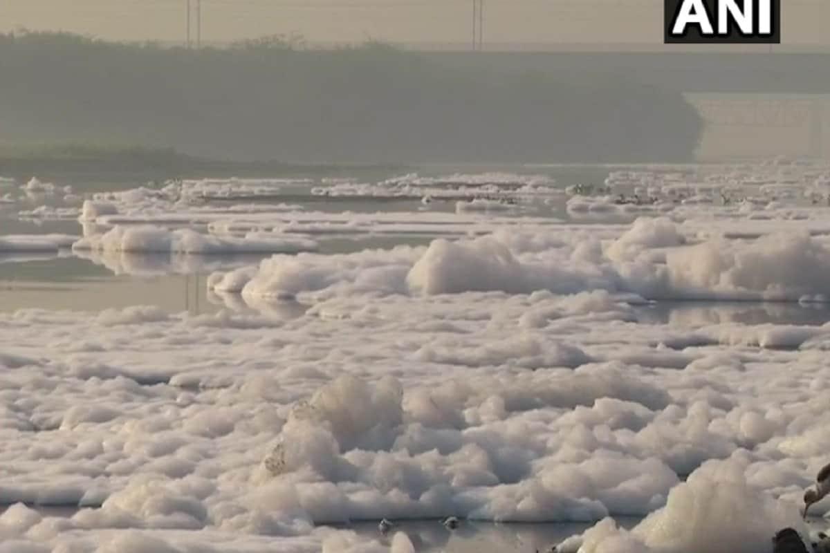 देश की राष्ट्रीय राजधानी दिल्ली (Delhi) में सिर्फ हवा की गुणवत्ता ही जहरीली नहीं हुई है, बल्कि पानी भी खराब हो गया है. अब खबर है कि यमुना नदी (Yamuna River Pollution) में प्रदूषण की वजह है से जहरीला झाग (Toxic Foam) बनने लगा है. खास कर दिल्ली के आइटीओ स्थित यमुना नदी में झाग ज्यादा देखने को मिल रहा है.