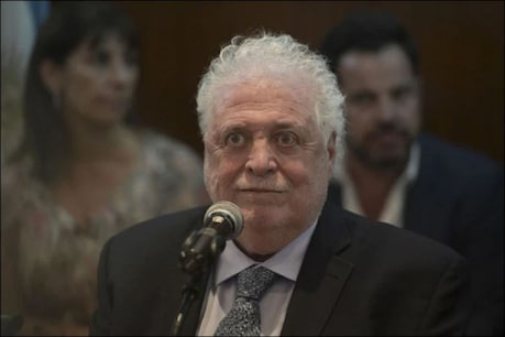 Argentina's Health Minister Guinness Gonzalez García (file photo)