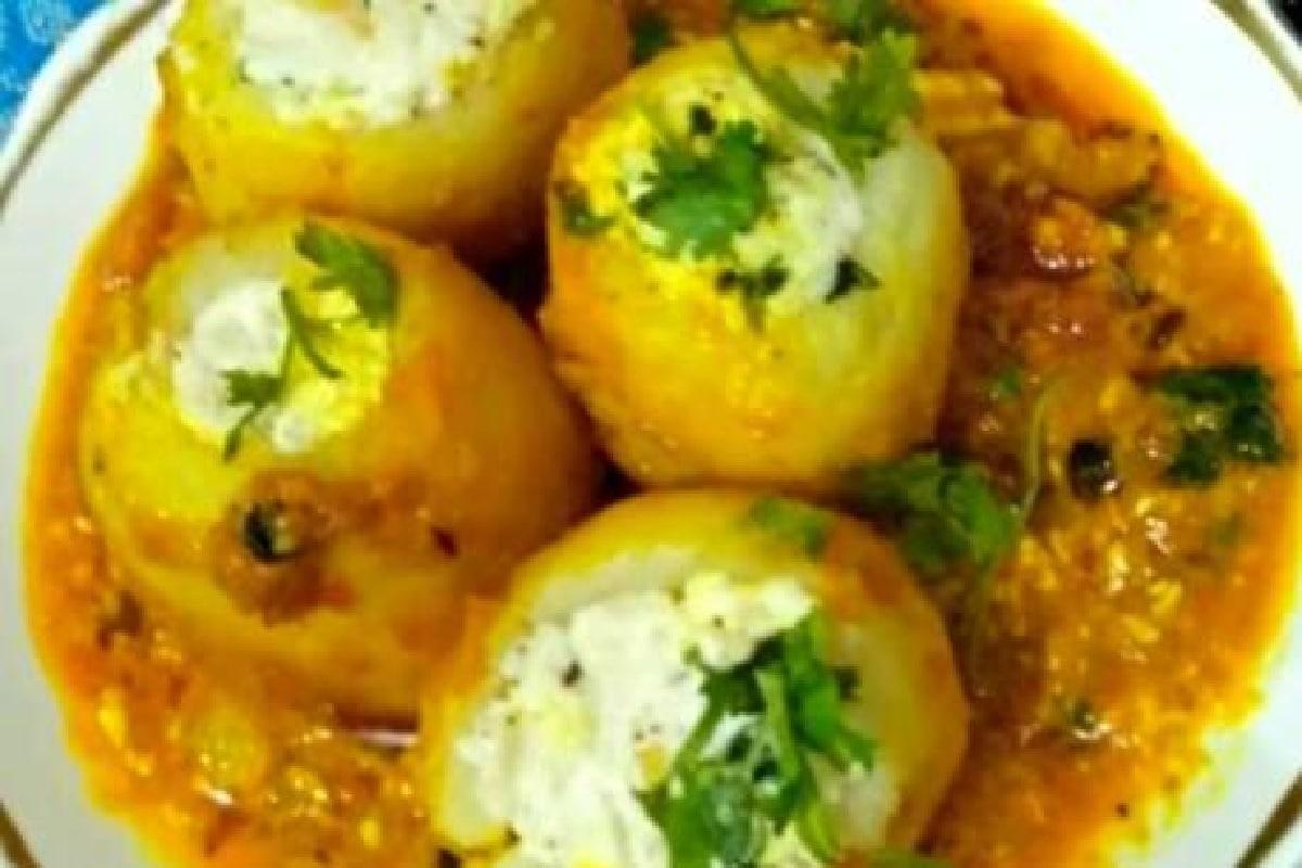 make tasty shahi bharwan dum aloo recipe dlnk– News18 Hindi