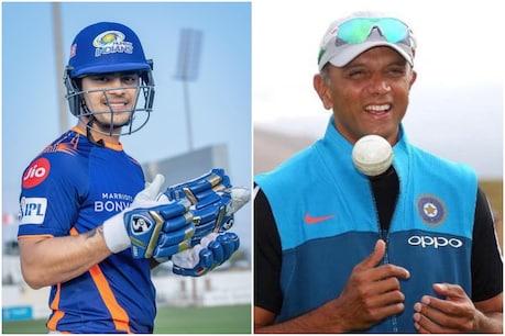 Vijay Hazare Trophy 2021: इशान किशन के धमाके के पीछे राहुल द्रविड़ का हाथ! (PC-इशान किशन-राहुल द्रविड़ इंस्टाग्राम)