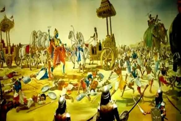 इसमें भारतीय संस्कृती के अहम हिस्से जैसे योग और आयुर्वेद पर ध्यान केंद्रित किया जाएगा. (महाभारत सांकेतिक फोटो)