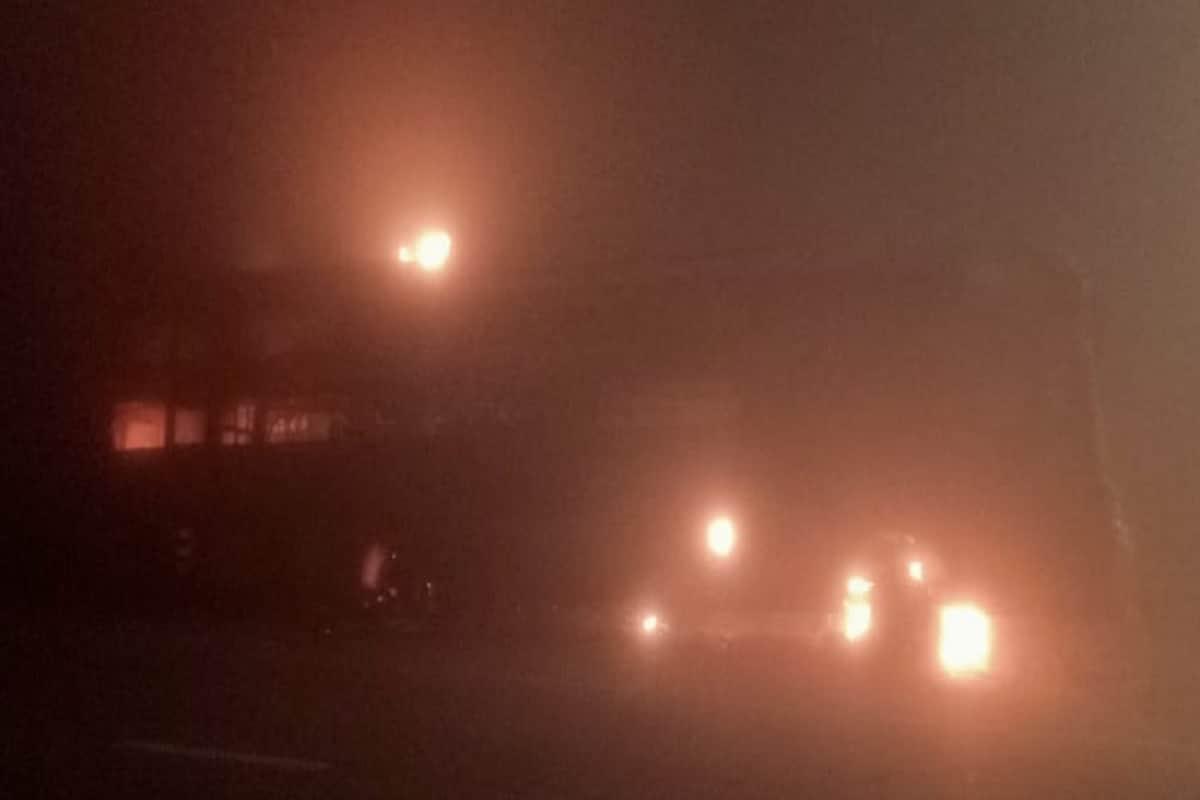 mathura fire bus2