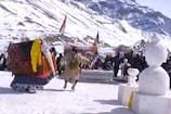 लाहौल-स्पीति में Snow Festival की धूम, देखें वीडियो