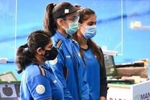 ISSF Shooting World Cup: भारतीय महिला टीम का जलवा, 25 मीटर पिस्टल टीम इवेंट में जीता गोल्ड
