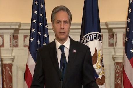 अमेरिकी विदेश मंत्री ने कहा कि हम जहां से पीछे हटे थे, चीन ने उन जगहों को भरा है.  ANI