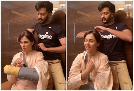Genelia D'Souza and Riteish Deshmukh are among the power couples in the industry.  (Instagram @Genelia D'Souza)