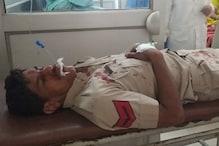 हरियाणा: चालान से बचने के लिए युवक ने पुलिसकर्मी पर चढ़ा दी बाइक