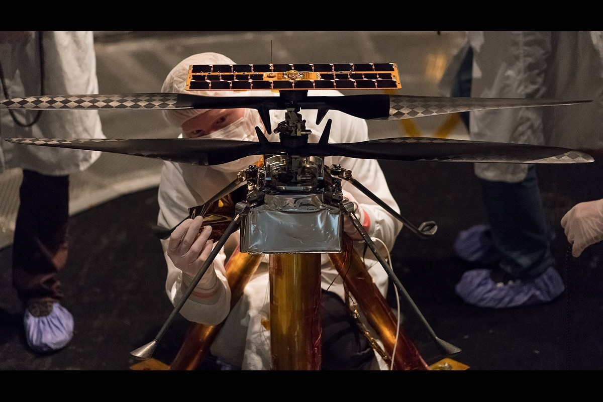, Mars, NASA, Perseverance Rover, Ingenuity, Helicopter, Ingenuity helicopter, First Flight on Mars