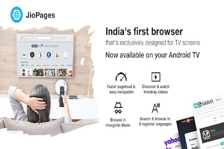 Reliance Jio has introduced Jio Pages for Android TV users.