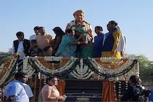 Kota: पुलवामा शहीद हेमराज मीणा की प्रतिमा का अनावरण, भावुक हुआ माहौल