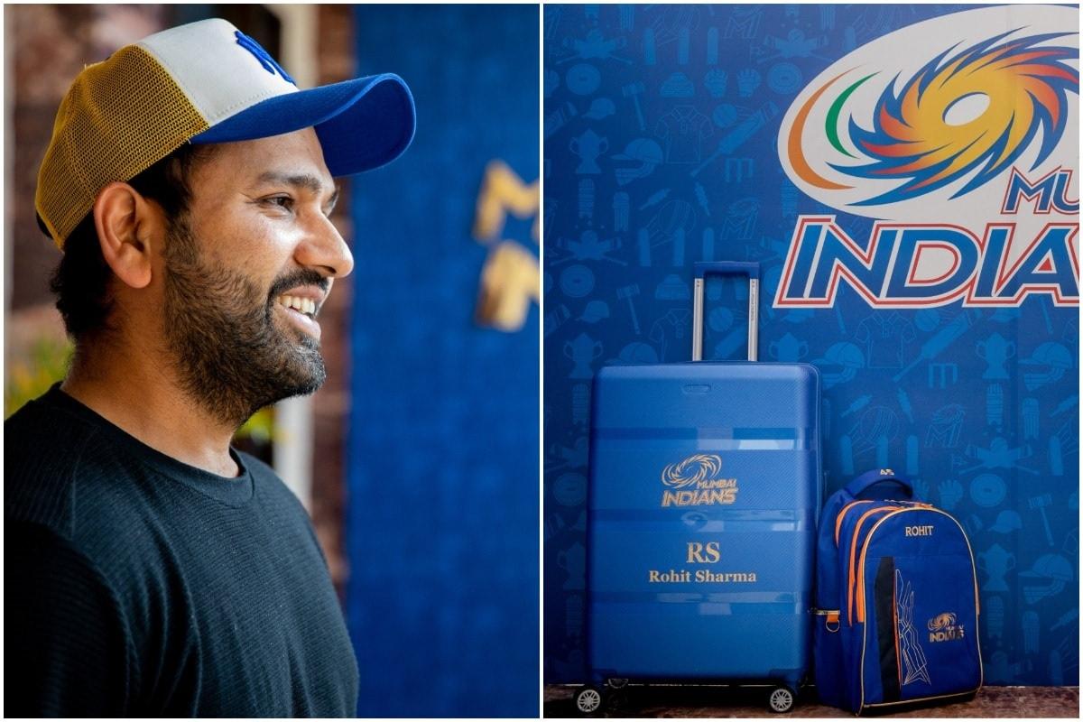 भारत के सीमित ओवरों के उप कप्तान रोहित शर्मा, आलराउंडर हार्दिक पंड्या, उनके भाई क्रुणाल और बल्लेबाज सूर्यकुमार यादव नौ अप्रैल से शुरू होने वाले इंडियन प्रीमियर लीग (IPL 2021) से पहले सोमवार को मुंबई इंडियंस की टीम से जुड़ गए हैं. ये चारों खिलाड़ी इंग्लैंड के खिलाफ वनडे सीरीज के लिए भारतीय टीम में शामिल थे. भारत ने रविवार को पुणे में तीसरे और अंतिम वनडे में सात रन से जीत दर्ज करके सीरीज 2-1 से अपने नाम की थी. (Mumbai Indians/Twitter)